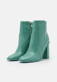 RAID - CINDY  - High heeled ankle boots - turquoise - 2