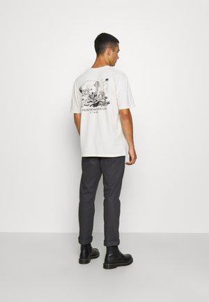 HOKUSAI MANGA - T-shirt imprimé - whisper white