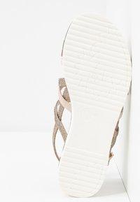 Jana - Sandals - gold metallic - 6