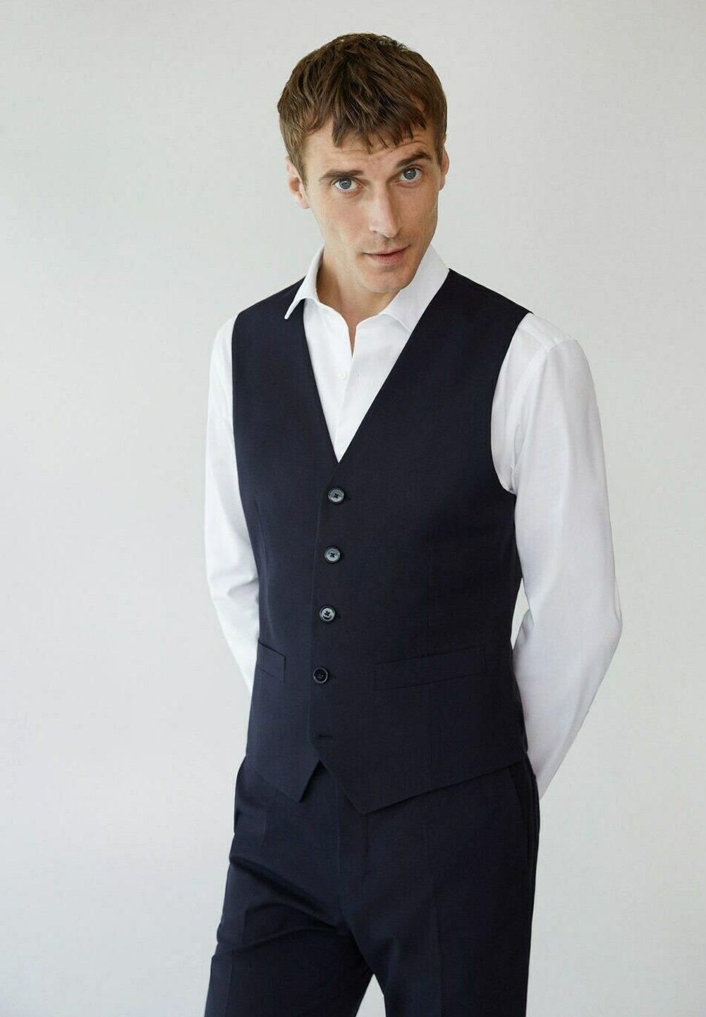 Men SLIM FIT - Suit waistcoat