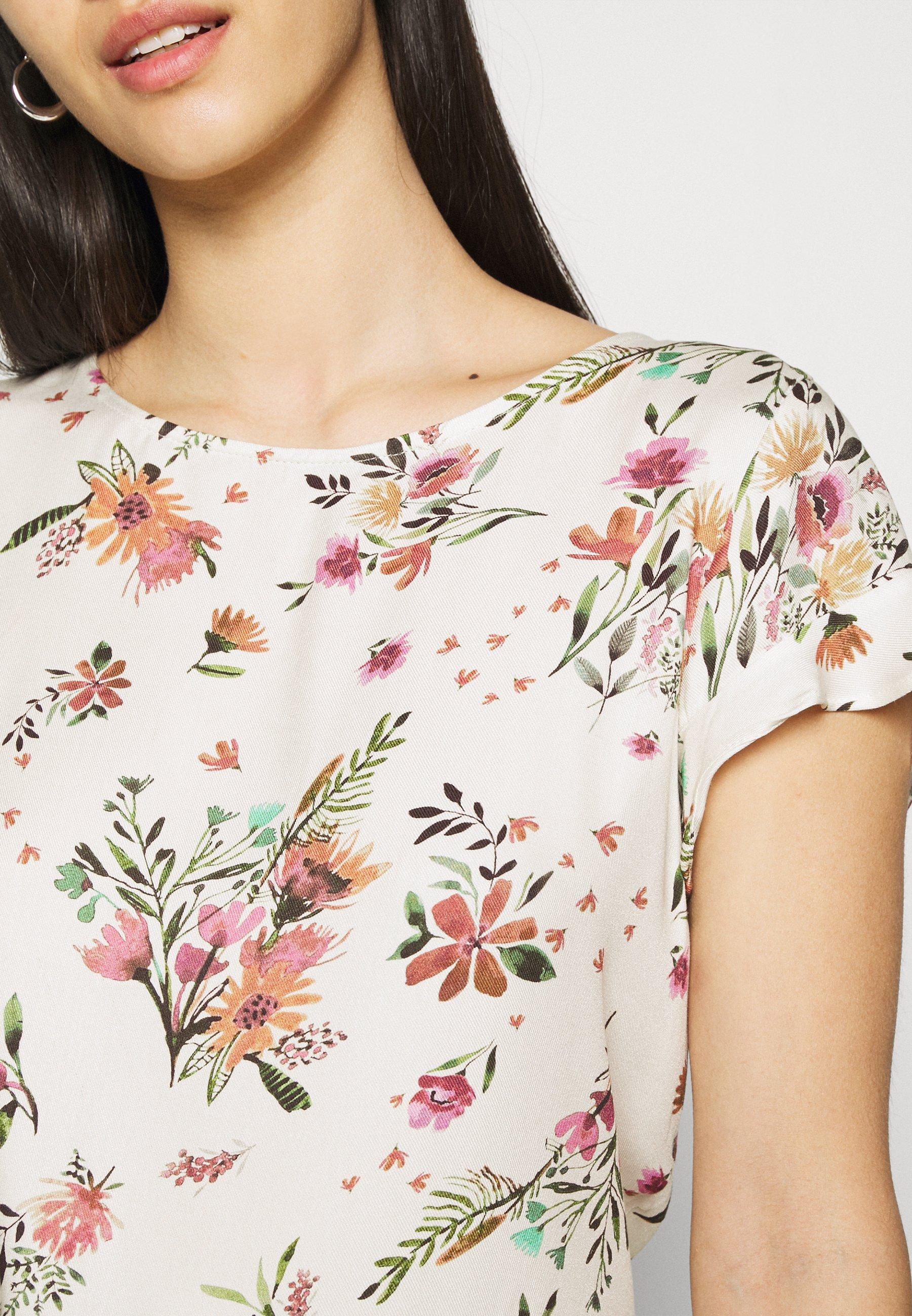Women VIBILLY FLOWER - Print T-shirt