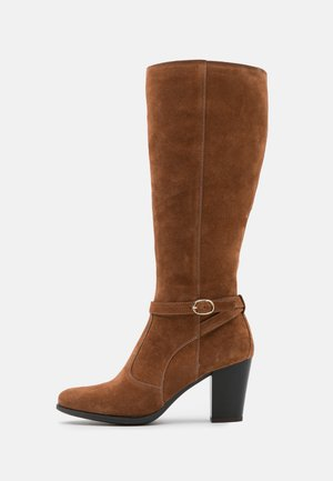 LEATHER - Bottes - brown