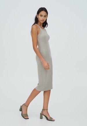 Maxi šaty - beige