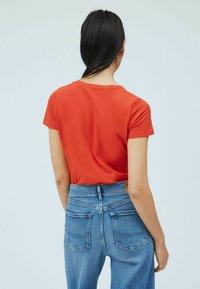 Pepe Jeans - Print T-shirt - mars rot - 2