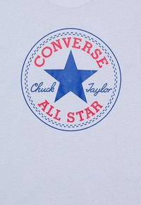 Converse - CORE CHUCK PATCH TEE  - Print T-shirt - porpoise - 2