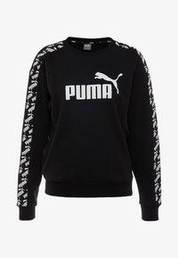 Puma - AMPLIFIED CREW  - Sweatshirt - black - 4