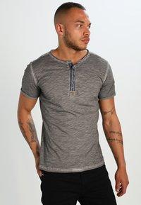 Key Largo - ARENA - Print T-shirt - silber - 0