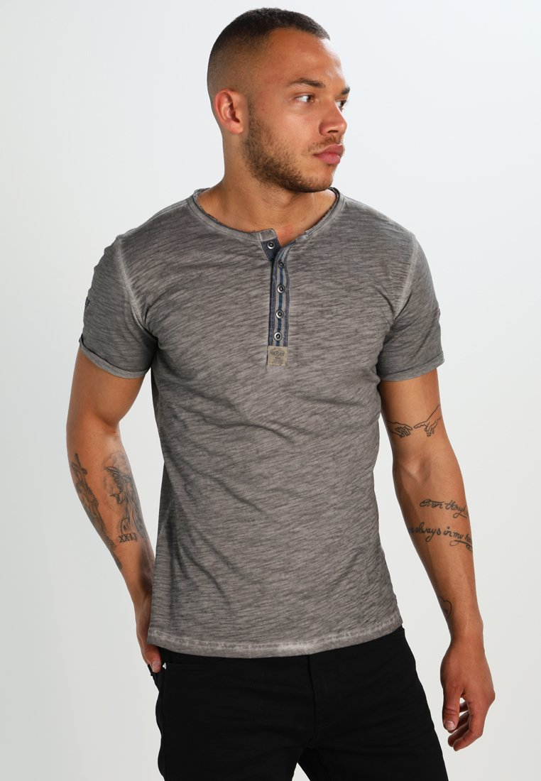 Key Largo - ARENA - T-shirt con stampa - silber