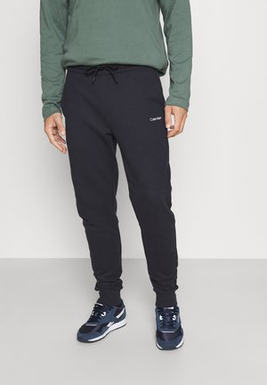 SMALL LOGO  - Tracksuit bottoms - navy