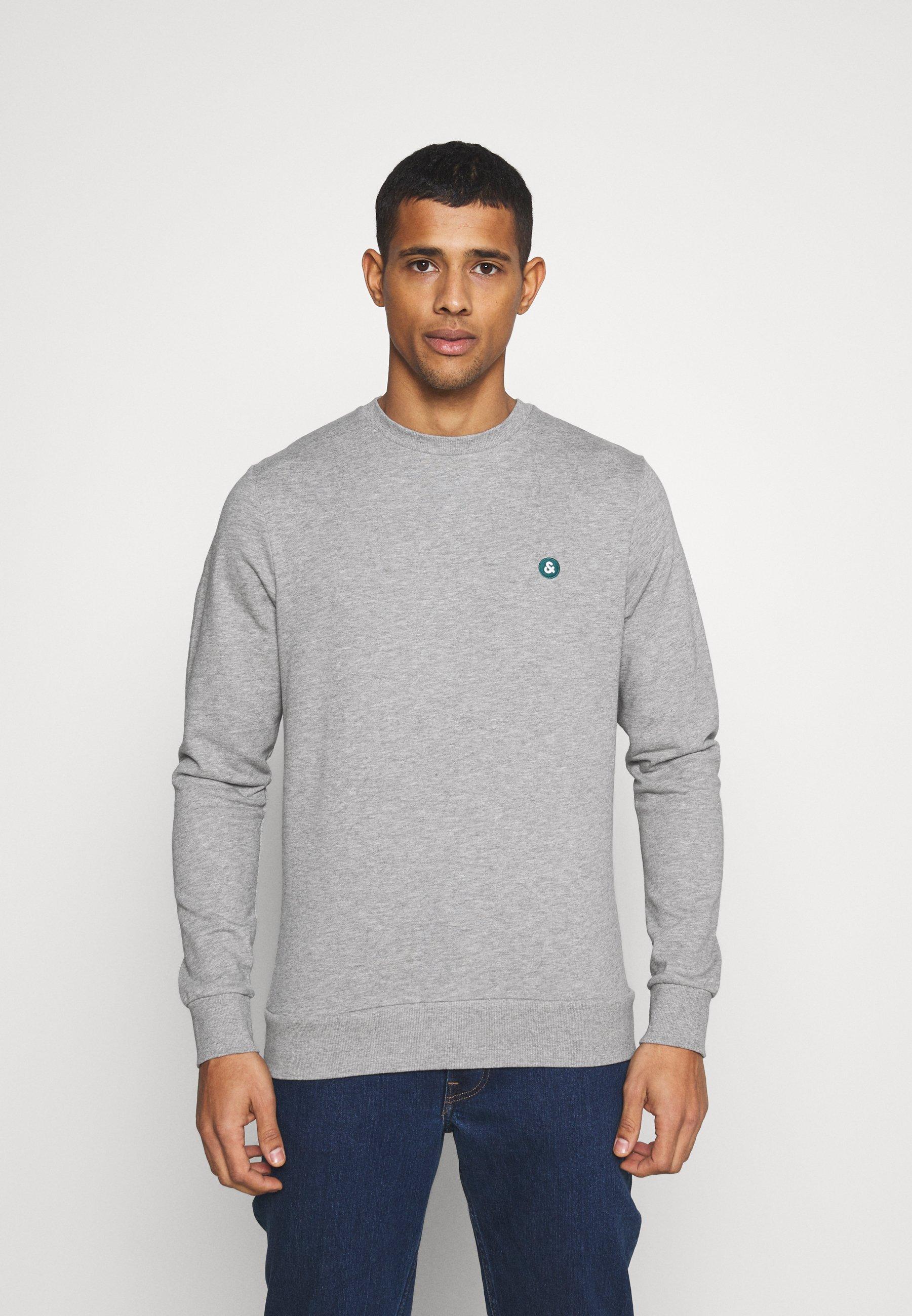 Homme JJEBADGE CREW NECK  - Sweatshirt