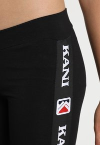 Karl Kani - TAPE - Leggings - Trousers - black - 4