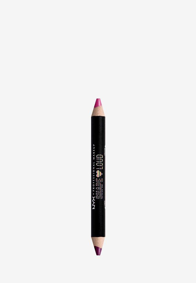 SHAPE LOUD MATTE LIP DUO - Lipstick - 4 it's a lewk