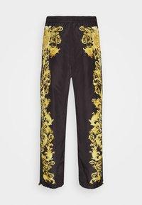 Versace Jeans Couture - PRINT BAROQUE - Tracksuit bottoms - black - 7