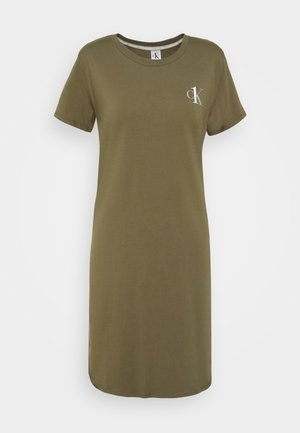 CK ONE LOUNGE NIGHTSHIRT - Nightie - muted pine