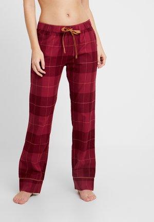 MIX & MATCH TROUSER - Pyžamový spodní díl - woodrose