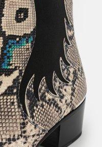Jeffery West - SYLVIAN NEW CHELSEA UNISEX - Cowboy/biker ankle boot - dark blue - 5