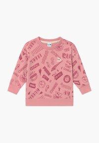 Puma - CREW - Bluza - dusty pink - 0
