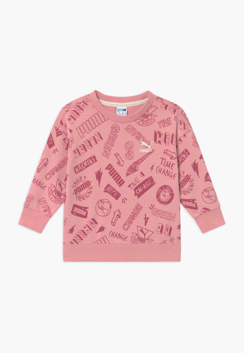 Puma - CREW - Bluza - dusty pink