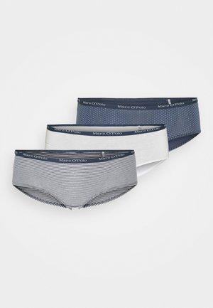 3 PACK - Kalhotky - dark blue