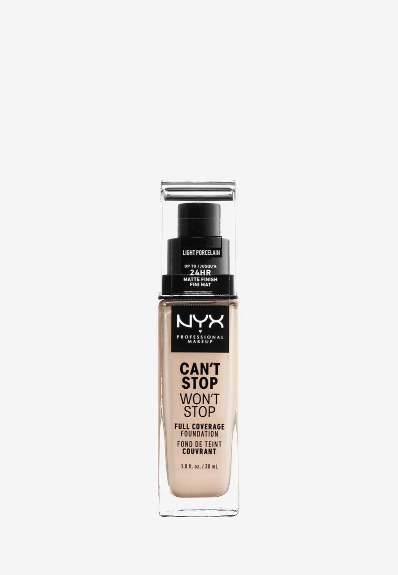 Nyx Professional Makeup - CAN'T STOP WON'T STOP FOUNDATION - Foundation - 1-märz light porcelain
