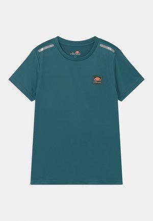 ROLLO UNISEX - T-shirt z nadrukiem - teal