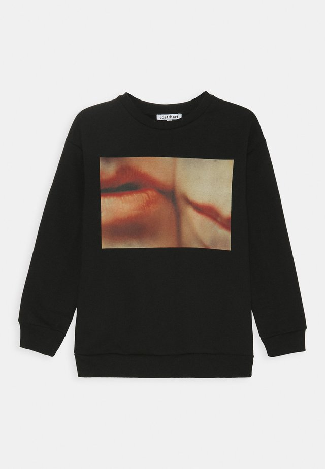 KABBY OVERSIZE - Sweatshirt - black