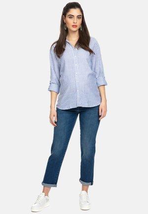 BOYFRIEND - Jeans baggy - medium dark stoned