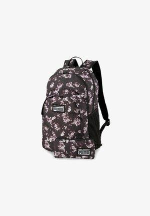 Backpack - puma black-floral aop
