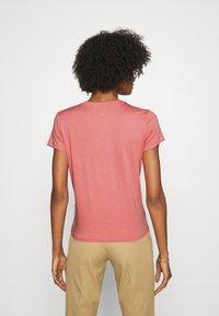 Polo Ralph Lauren - SHORT SLEEVE - T-shirt z nadrukiem - desert rose - 2
