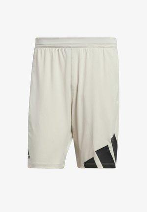 4K 3 BAR DESIGNED4TRAINING PRIMEGREEN SHORTS - Sports shorts - grey
