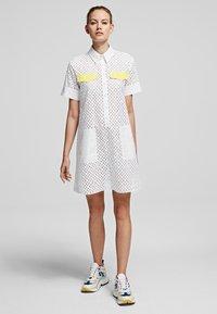 KARL LAGERFELD - Shirt dress - white - 1