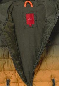 s.Oliver - Zimní bunda - green - 2