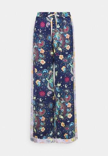 PANTALONE - Trousers - dark blue/purple