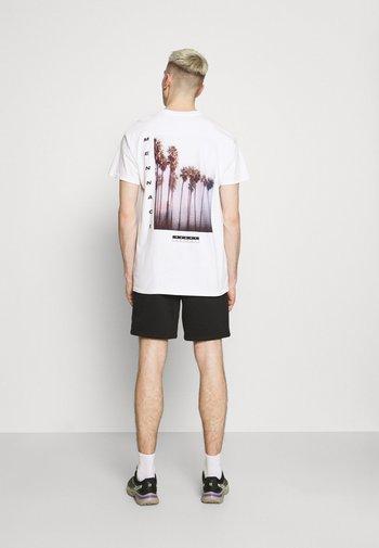 BREEZE PALM TREE REGULAR - T-shirt imprimé - off white