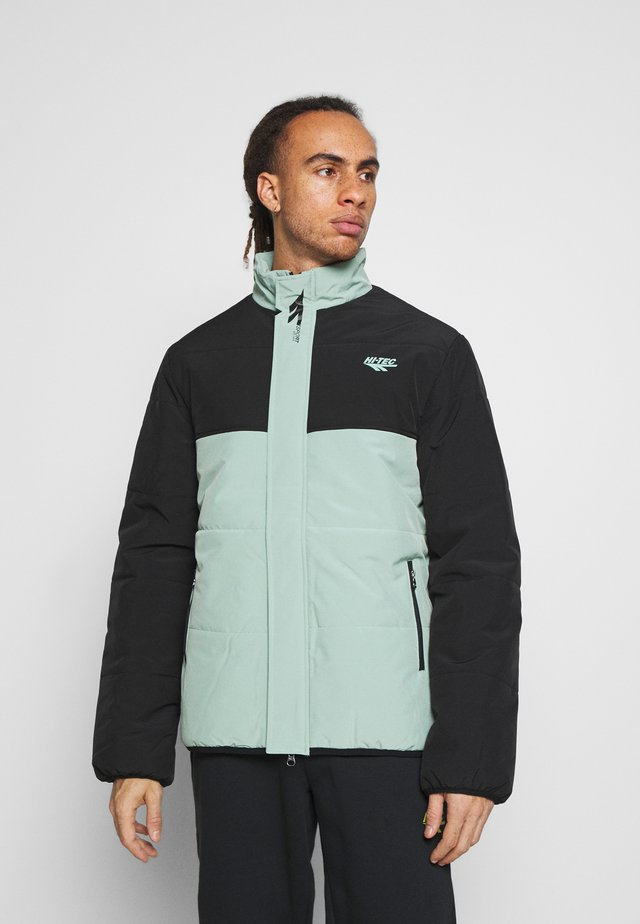 BRENDON PADDED COAT - Winterjas - granite green