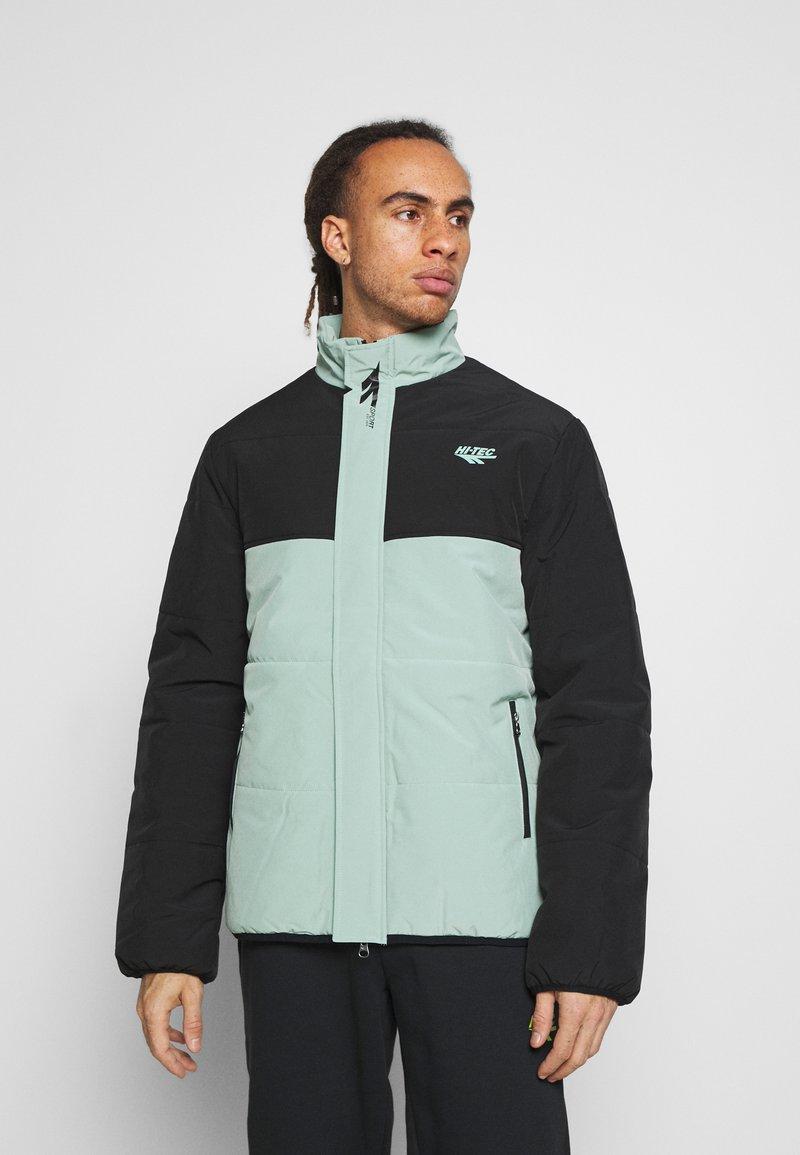 Hi-Tec - BRENDON PADDED COAT - Winter jacket - granite green
