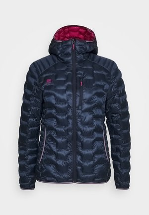 WOMENS MOTION HOOD - Chaqueta de esquí - dark blue