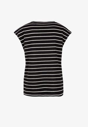 MIT RINGELMUSTER - T-shirt imprimé - black stripes