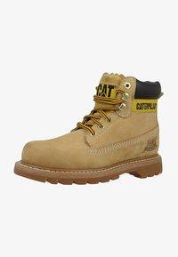 Cat Footwear - COLORADO - Šněrovací kotníkové boty - honey - 2