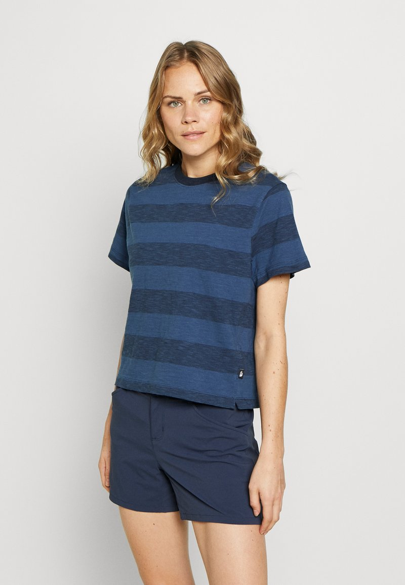 The North Face - WOMEN'S STRIPE - T-shirts med print - urban navy