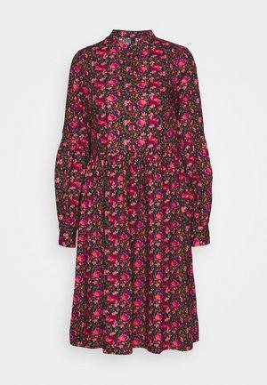 YASBLOOMA DRESS - Košilové šaty - black