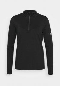 Nike Performance - ELEMENT TRAIL MIDLAYER - Funkční triko - black/silver - 0