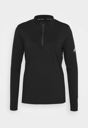 ELEMENT TRAIL MIDLAYER - T-shirt sportiva - black/silver