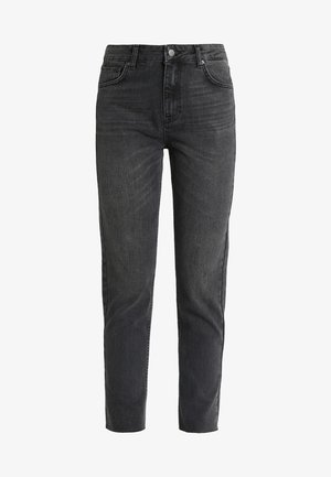 CRYSTAL MOM  - Džíny Relaxed Fit - black washed
