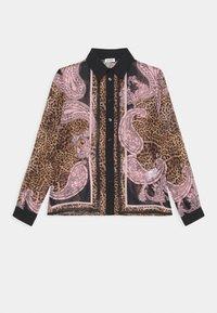 Liu Jo Jeans - CAMICIA GEORGETTE - Button-down blouse - beige - 0