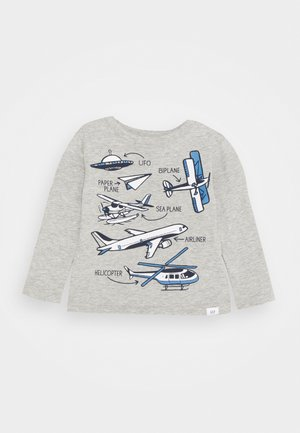 TODDLER BOY - Long sleeved top - light heather grey