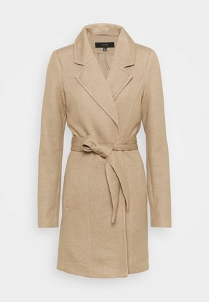 VMVERODONA  - Classic coat - sepia tint melange