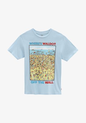 T-shirt z nadrukiem - (where's waldo?)fndstvbch