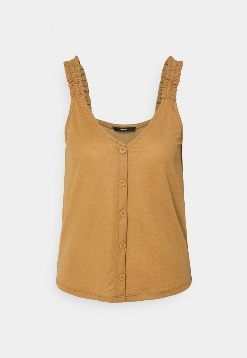 Vero Moda - VMKAYLA - Top - tobacco brown