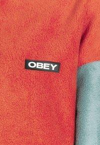 Obey Clothing - JUNIPER POPOVER - Fleecegenser - orange - 6